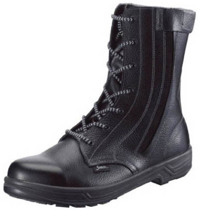 【SS33C-26.5】 《TKF》 シモン 外チャック式安全靴 スター ωο0