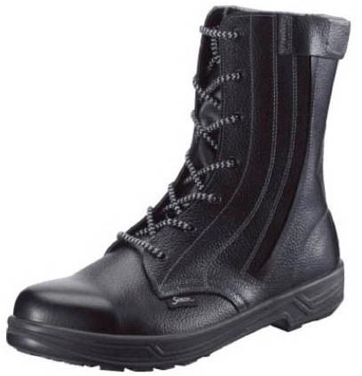 【SS33C-27.0】 《TKF》 シモン 外チャック式安全靴 スター ωο0