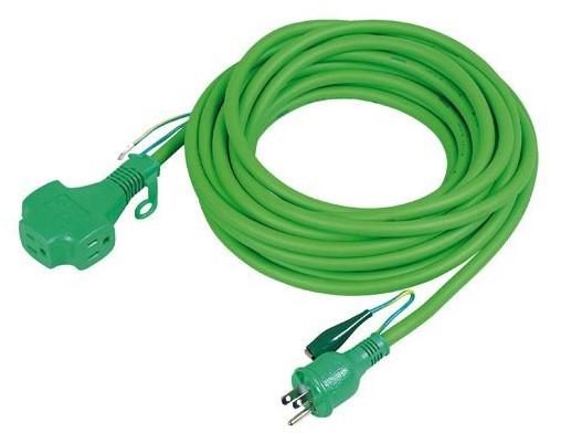【PPT-20Eミドリ】 《TKF》 日動工業 延長コード 15AP20M3SE(緑) ωο0