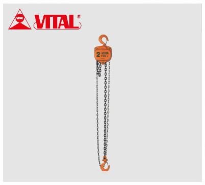 【VP5-20】 《TKF》 バイタル工業 手動チェーンブロック2トン 3.0MVP型 ωο0