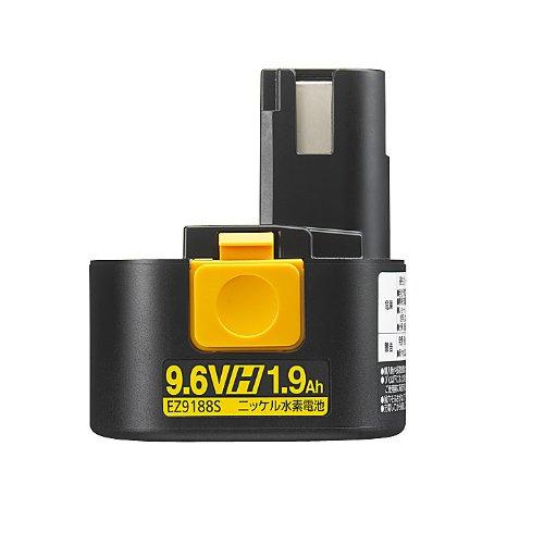 【EZ9188S】 《TKF》 パナソニック ニッケル水素電池パックH-9.6V ωο0