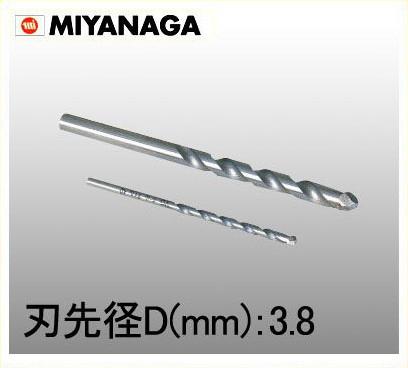 Z038 保証 238482 《TKF》 磁器タイル用ドリル3.8×85 激安卸販売新品 ミヤナガ ωο0