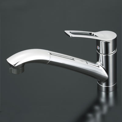 【KM5031T】 《TKF》 KVK シングルレバー式シャワー付 キッチン用 混合栓 ωζ0