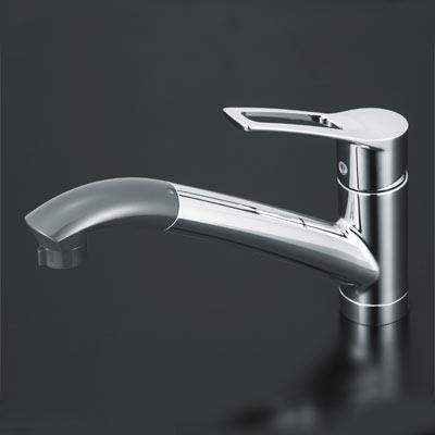 【KM5031】 《TKF》 KVK シングルレバー式シャワー付混合栓 ωζ0