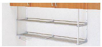 【MTA2-60】 《TKF》 クリナップ ステンレスパイプ棚 ふきん掛け付き 間口60cm 高さ50cm ωγ1