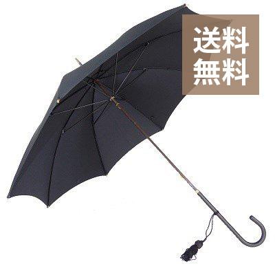 フォックスアンブレラ スリムレザー ハンドル / ブラック 黒 / レディース 婦人傘 WL1 Slim Leather Handle / Black / foxumbrella