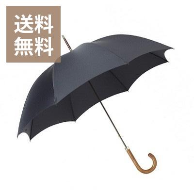 フォックスアンブレラ ハードウッドハンドル / ネイビー /メンズ 紳士傘 GT1 Hardwood Handles (Medium Brown Handle) Gents Tube Frame / Navy / foxumbrella