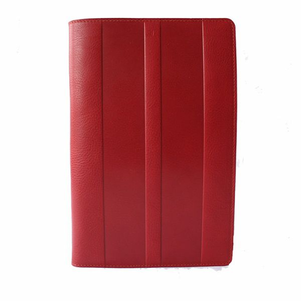 イルビゾンテ/IL BISONTE/ノートカバー/レッド/赤/レザー/メンズ/レディース/F0412/836 Red