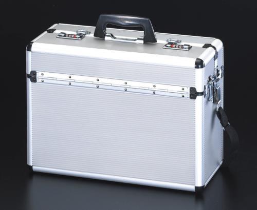 道具箱 腰袋、収納ケース、ツールキャビネット、作業台、棚 アルミ製工具箱 エスコ 新作からSALEアイテム等お得な商品 満載 EA502TA-2 高級品 アルミケース 455x190x330mm ESCO