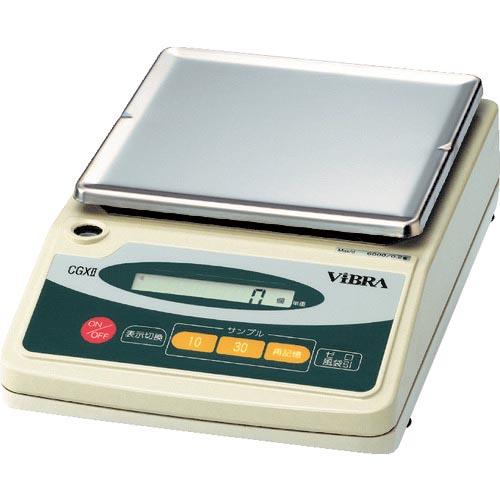 条件付送料無料 測定 計測用品 計測機器 SALE はかり ViBRA お得 カウンテイングスケール 6000g CGX26000 CGX2-6000 株 新光電子