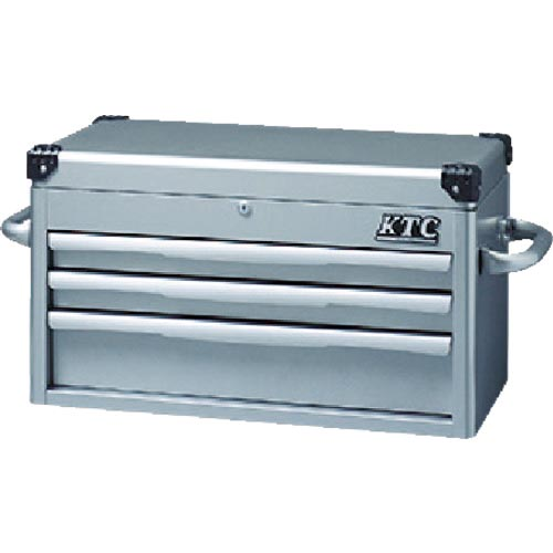 【在庫有】 KTC トップチェスト(3段3引出し)シルバー EKR-1003 ( EKR1003 ) 京都機械工具(株), 住宅設備専門 ジャストリフォーム 7ddaf010