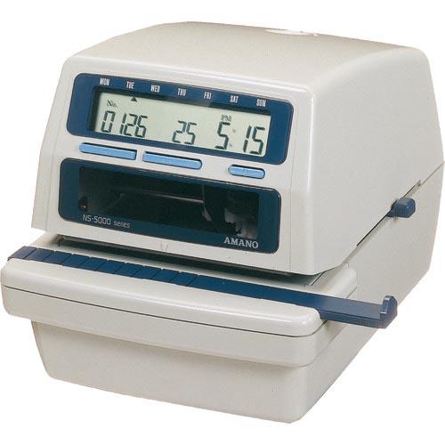 輝く高品質な アマノ 電子タイムスタンプ NS5000 ( NS5000 ) アマノ(株), 櫛田養鶏場 a8f4fdbc