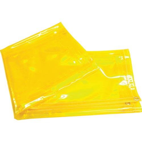 供え 工事 照明用品 溶接用品 溶接遮光フェンス スーパーSALE対象商品 吉野 YS-SY-4 イエロー 株 YSSY4 遮光用衝立用シート 有名な