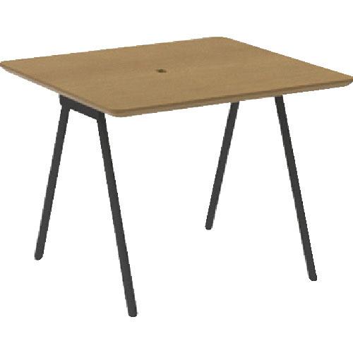 TRUSCO ミーティングテーブル W950×D860×H600 天板ホワイトオーク MLT9586-WO ( MLT9586WO ) トラスコ中山(株)