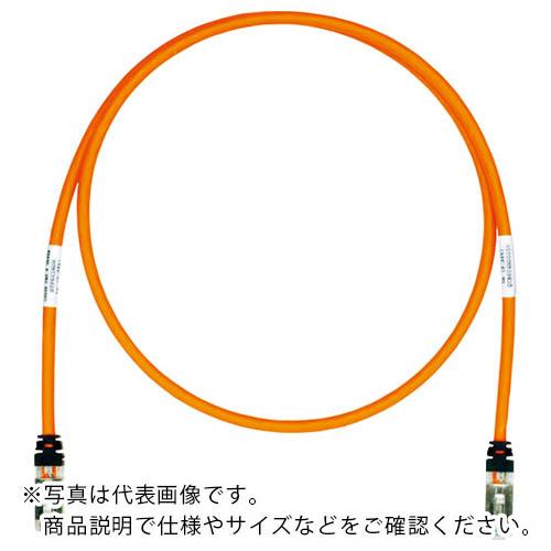 電子機器 電設配線部品 送料無料激安祭 LANケーブル パンドウイット CAT6A CAT6 シールドパッチコード STP6X35MOR 35m 人気海外一番 パンドウイットコーポレーション オレンジ