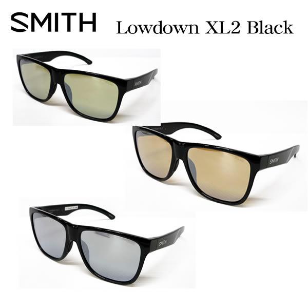 格安新品  SMITH スミス アクションポーラー ローダウンXL2 偏光サングラス ACTION POLAR Lowdown XL2 ブラックフレーム ミラータイプ, CuoreCuore 79a1806e