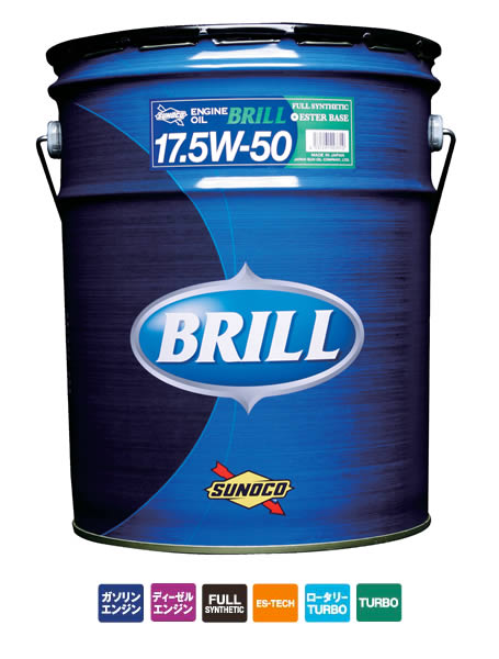 SUNOCO スノコ BRILL ブリル 17.5w50 20Lペール缶