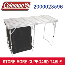 【即納!】コールマン テーブルCOLEMAN STORE MORE CUPBOARD TABLEUSA COLEMAN [2000023596]