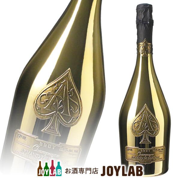 【あす楽】【袋付】アルマンド ブリニャック ブリュット ゴールド 750ml 箱なし シャンパン シャンパーニュ 【中古】