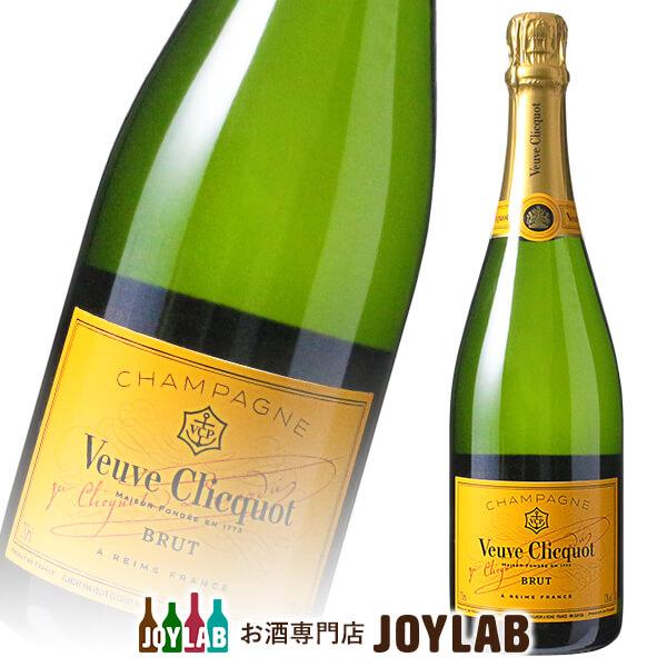 ヴーヴ クリコ イエローラベル ブリュット 750ml 箱なし シャンパン シャンパーニュ 【中古】