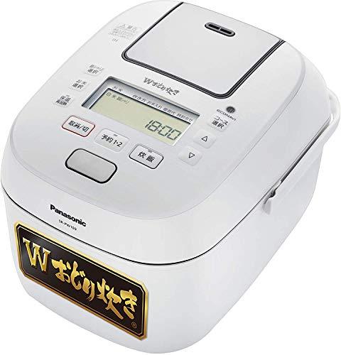 パナソニック 炊飯器 5.5合 可変圧力IH式 送料無料限定セール中 SR-PW109-W 40%OFFの激安セール Wおどり炊き ホワイト