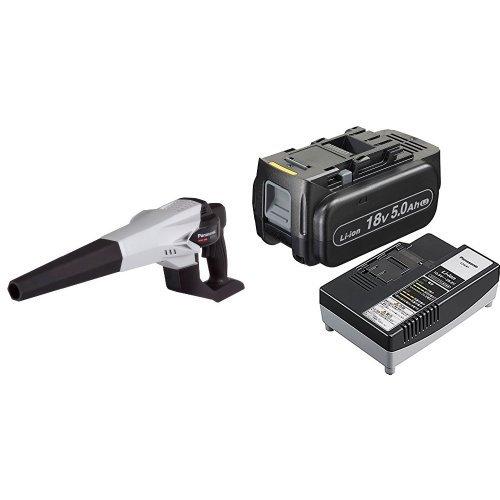 蔵 パナソニック ブロア 5.0Ah電池パック EZ37A1 授与 EZ9L54ST 充電器付き