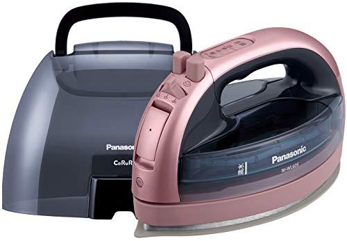 パナソニック コードレススチームWヘッドアイロン 価格 交渉 送料無料 NI-WL605-P セットアップ ピンク