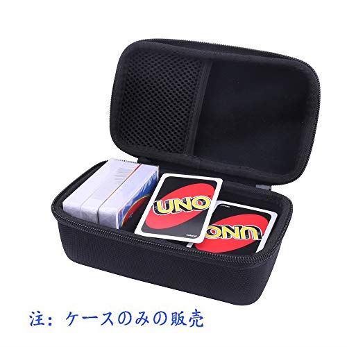 贈り物 用のカードゲーム 対応收納ケース -Aenllosi 400枚 待望 ブラック
