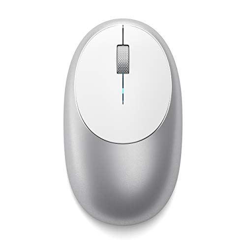 Satechi 新着 アルミニウム M1 Bluetooth お中元 ワイヤレス マウス Type-C充電ポート�き Mac MacBook Air シルバー iMac Pro iPad Mini Proなど2012以降MacOS対応
