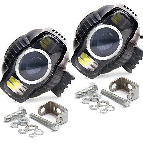 激安通販 Colight 車用 バイク汎用LEDヘッドライト フォグランプ 補助灯 IP67防水 3000LM 正規品スーパーSALE×店内全品キャンペーン 6500k 2個セット LEDサブライト 9V~85V 高輝度ledチップ搭載
