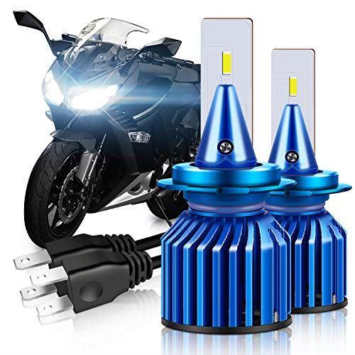 WinPower H7 バイク用 超激得SALE led ヘッドライト 純正交換用バルブ 世界の人気ブランド 6500K 高輝度 2個セット 12V 搭載 小型 二重放熱システム CSP社製チップ