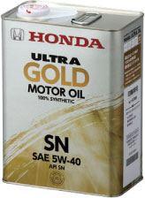 4L 08220-99974 春の新作続々 送料込み のお得なセット販売始めました 6缶まで同梱可 HONDA ホンダ純正 ガソリンエンジンオイル 流行 SN 5W40 ULTRA GOLD GF-5 ウルトラ