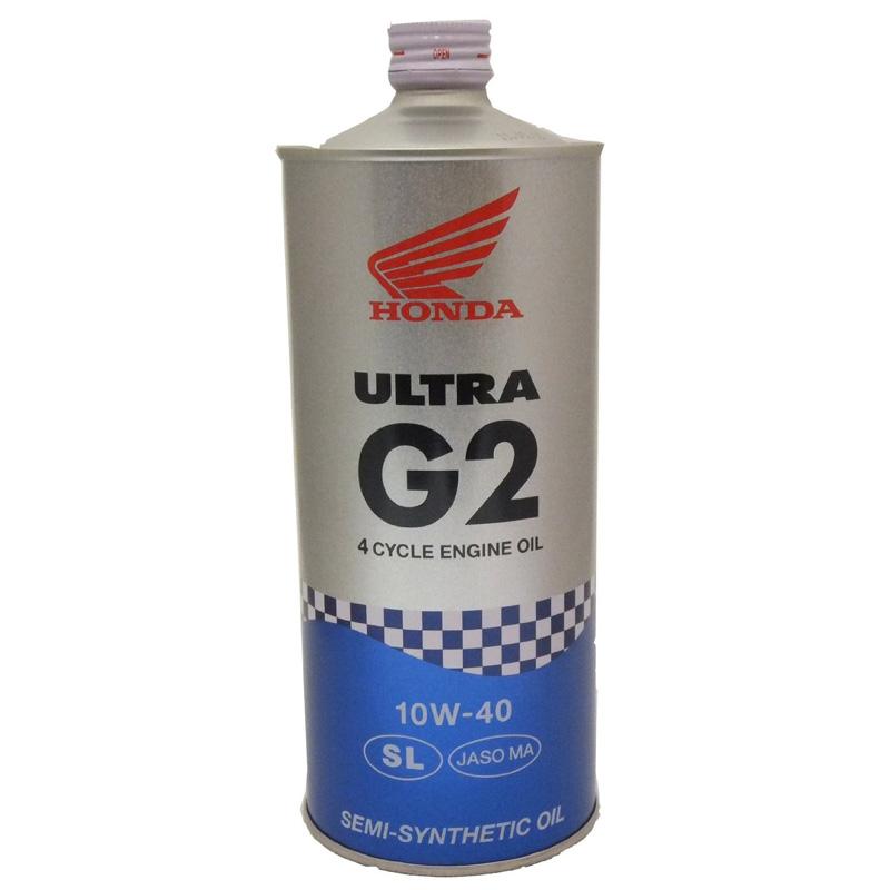 【送料込み、10本セット】ホンダ純正オイル ウルトラG2 10W-40 SL 部分化学合成油 1Lx10本
