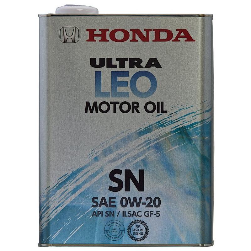 【送料込み、6缶セット】HONDA ホンダ純正 ULTRA ウルトラ LEO SN GF-5 0W20 ガソリンエンジンオイル 4L 6缶