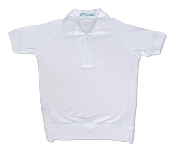 学校指定などの体育着に良く使われております 体操服 カンコー チャック襟体操着 サイズ:120~140 半袖 毎日続々入荷 超定番
