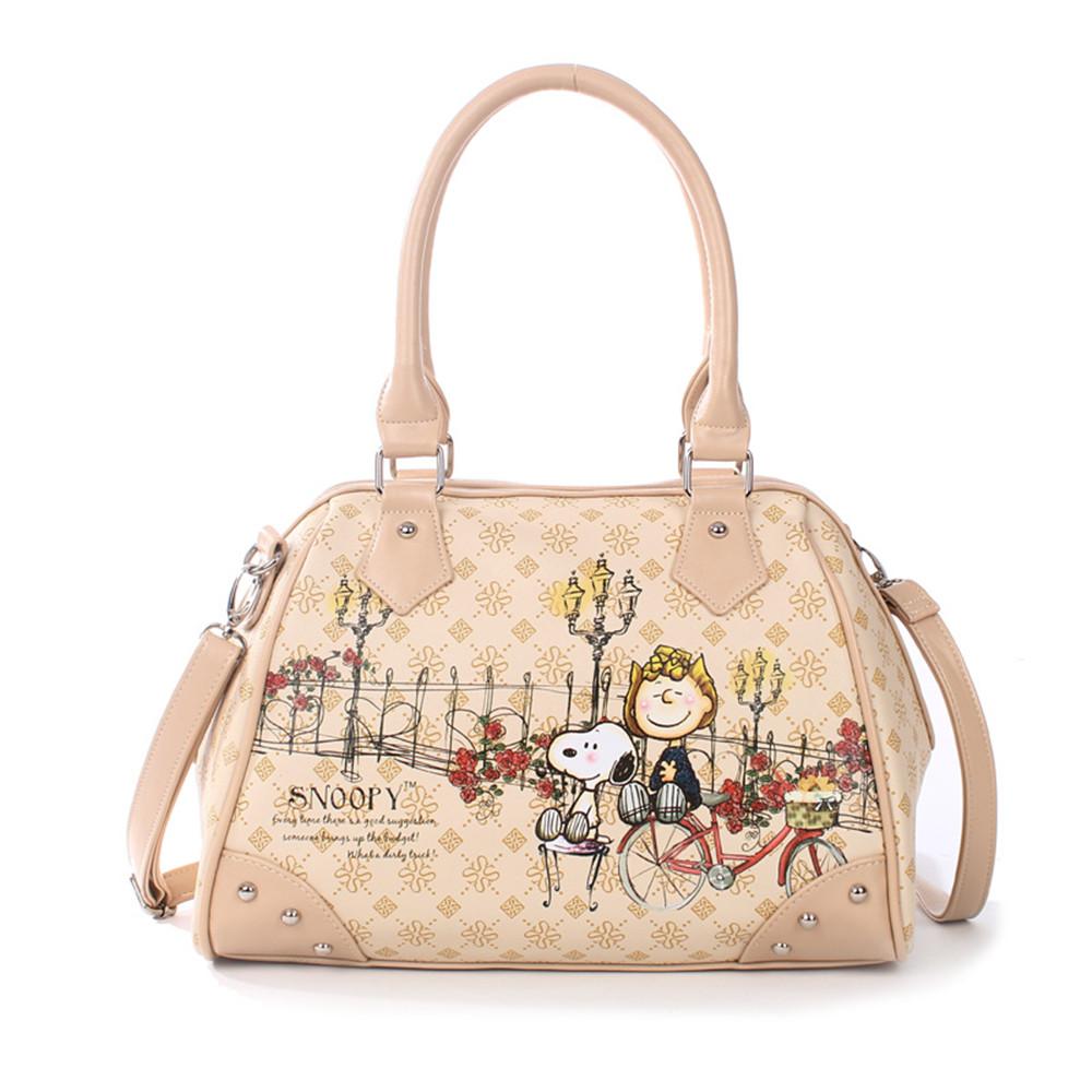 Snoopy Handbags Las Bag Shoulder 2 Way