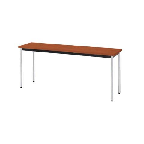 ナイキのベーシックな会議用テーブル 新品 代引き不可 豊富な品 株式会社ナイキ会議用テーブル天板カラー:チークKM1545-T 無料サンプルOK