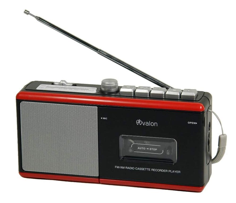 送料無料 シンプル マート コンパクト 期間限定送料無料 卓上でも枕元でも便利な1台 新品 アヴァロンFM Avalon ラジカセ内蔵マイク付きワイドFM対応2電源方式ARC-29BR AMラジオカセットレコーダーモノラル