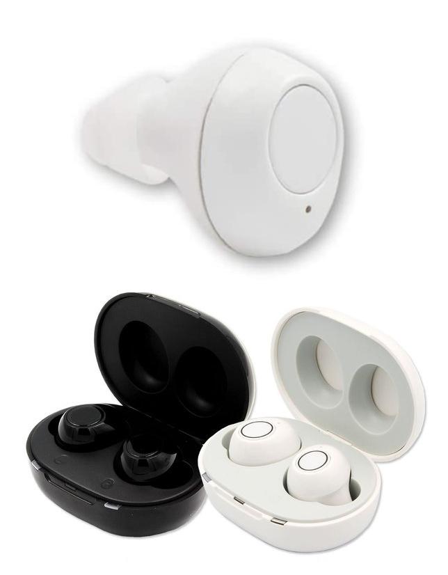 耳が遠いお悩みを抱える方へ 小型 軽量の充電式集音器 特価キャンペーン 新品 ベストアンサー集音器 左右耳穴式充電式ワイヤレスタイプカラー:ホワイトLIFE-009WH 店 送料無料