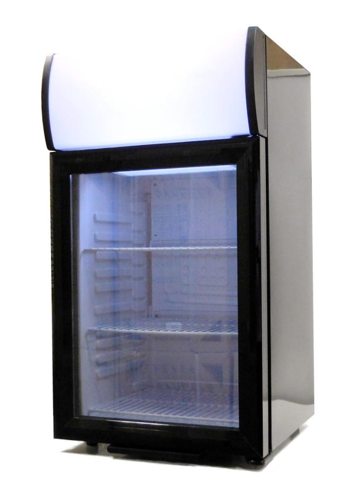 SALE 送料無料 中身が見えやすい前面ガラスドア使用 容量40Lのディスプレイ冷蔵庫です 新品 ●スーパーSALE● セール期間限定 SIS 右開きカラー:ブラックSC40B 代引き不可 北海道 沖縄配送不可 エスアイエスディスプレイクーラーショーケース冷蔵庫容量40L