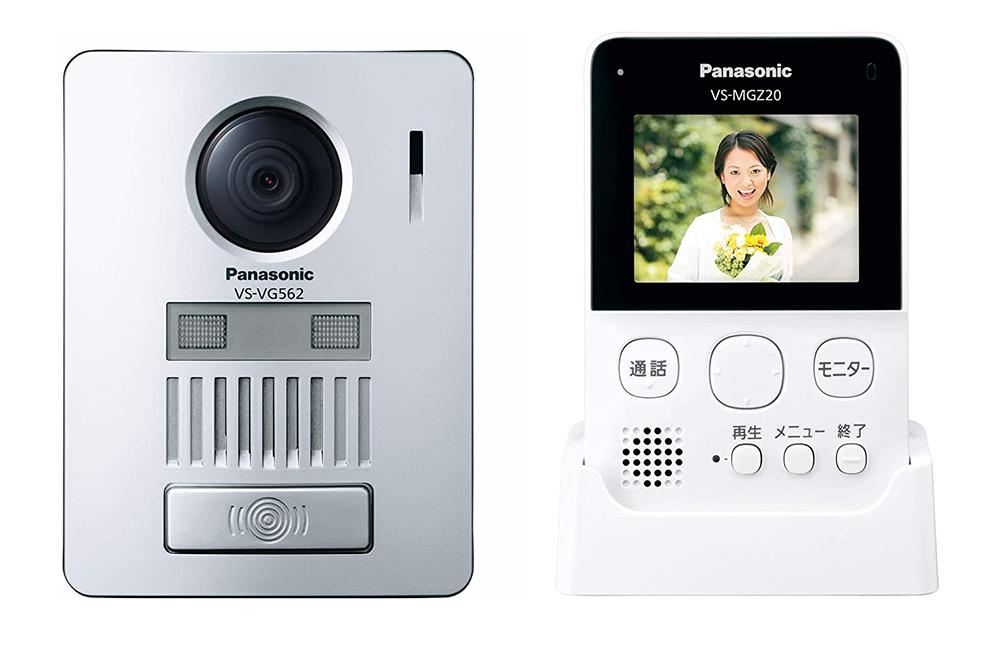 お買い得品 自動録画機能搭載 取り付け簡単 配線工事不要のワイヤレスドアホン 新品 代引き不可 Panasonic 現金特価 パナソニックワイヤレステレビドアホン自動録画機能搭載LEDライト搭載配線工事不要VS-SGZ20L 送料無料