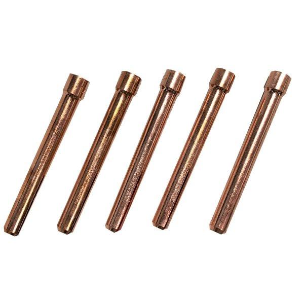 TIG用 コレット 10N24 適合 2.4mm WP-17/26/18用 5本 TIG用 コレット 10N24 適合 2.4mm WP-17/26/18用 5本