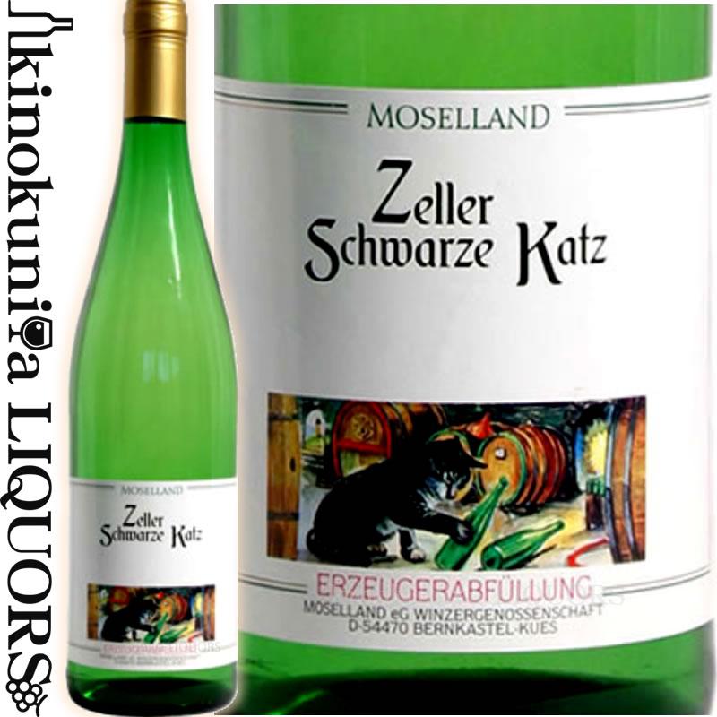 フレッシュな酸味と甘みのバランスが良い味わい モーゼルランド ツェラー 即納 シュヴァルツェカッツ 2019 白ワイン 甘口 750ml Zeller モーゼル ルーヴァーQbA ザール Katz ドイツ ご予約品 Schwarze Moselland