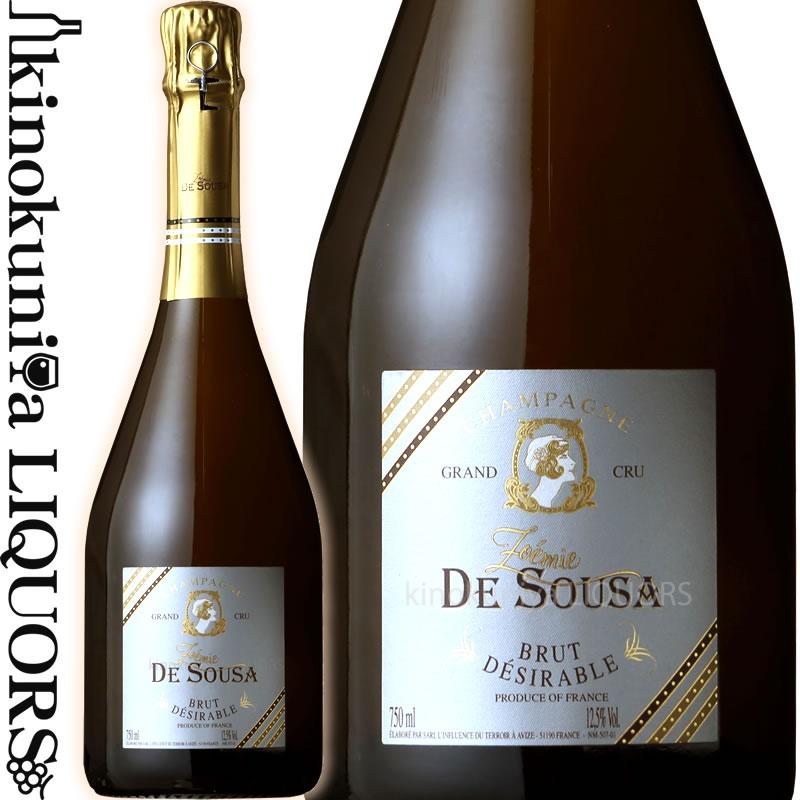 ゾエミ・ド・スーザ ブリュット・デジラブル グラン・クリュ ブラン・ド・ブラン [NV]白 シャンパーニュ 辛口 750ml フランス AOCシャンパーニュ グラン・クリュZoemie de Sousa Brut Desirable Grand Cru Blanc De Blancs