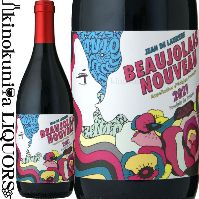 フルーティで繊細 広がりのある味わい これぞボージョレ ヌーヴォー といいたくなるような新鮮な果実味をもつ ボジョレーヌーボーのお手本のようなワイン ジャン ド ロレール ボージョレー 2021 赤ワイン ライトボディ NEW ARRIVAL 750ml 11月17日一斉出荷 de ブルゴーニュ地方 ヌーボー Beaujolais 輸入 Jean Nouveau 2021年11月18日解禁 新酒 AOCボジョレー フランス Laurere ボジョレー