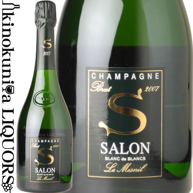 サロン / ブラン ド ブラン [2007] 750ml [箱無し][限定品] シャンパン シャンパーニュ【あす楽対応】