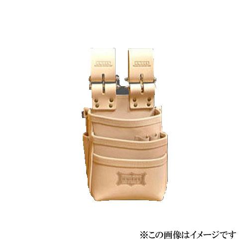 【代引き不可】KNICKS(ニックス) KNS-301DDX 総ヌメ革使用3段腰袋
