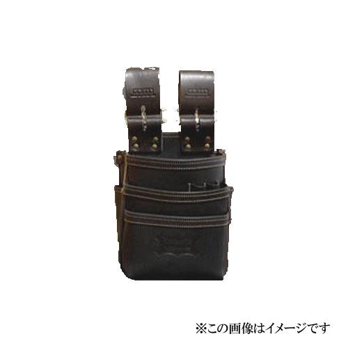 【代引き不可】KNICKS(ニックス) KBS-301DDX 総ヌメ革使用3段腰袋