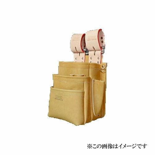 【代引き不可】KNICKS(ニックス) KN-301SPDX 自在型チェーンタイプ 総グローブ革3段腰袋