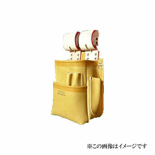 【代引き不可】KNICKS(ニックス) KN-201SPDX 自在型チェーンタイプ 総グローブ革2段腰袋